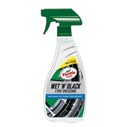 Εικόνα της TURTLE WAX WET 'N' BLACK 500ML