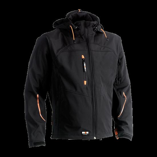 Εικόνα από Poseidon soft shell jacket BLACK