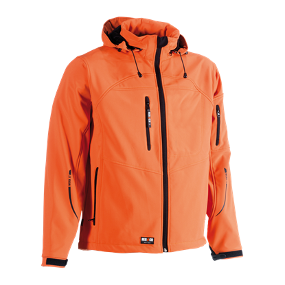 Εικόνα της Poseidon soft shell jacket ORANGE