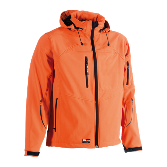 Εικόνα από Poseidon soft shell jacket ORANGE