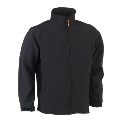 Εικόνα της Julius soft shell jacket BLACK