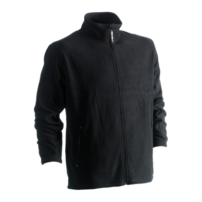 Εικόνα της Darius fleece jacket BLACK