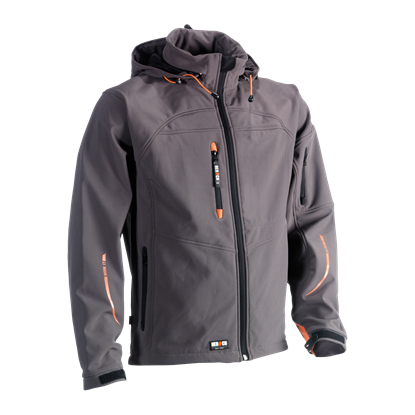 Εικόνα της Poseidon soft shell jacket GREY
