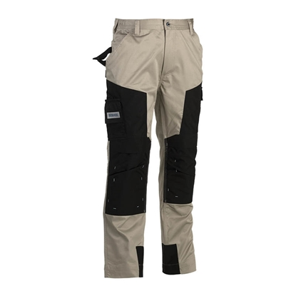 Εικόνα της Capua trousers BEIGE/BLACK