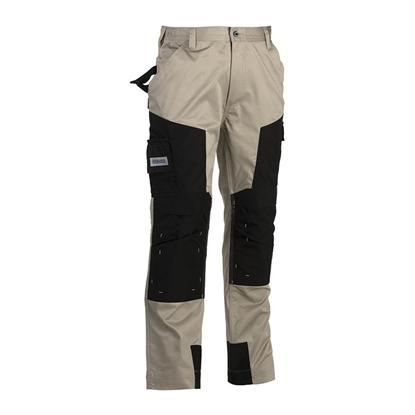 Εικόνα της Capua trousers BEIGE/BLACK