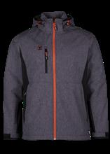 Εικόνα από Walder soft shell jacket Reflective Grey/Black XXL