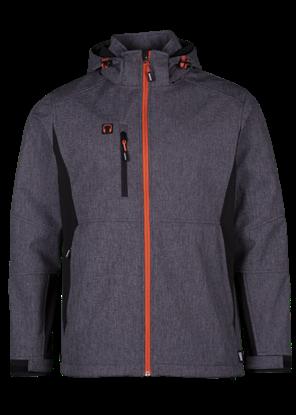 Εικόνα της Walder soft shell jacket Reflective Grey/Black XXL
