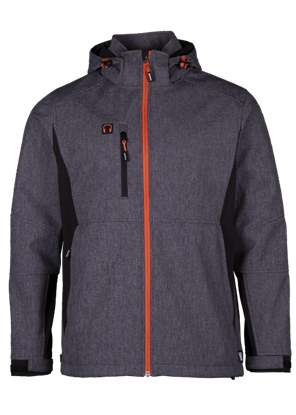 Εικόνα της Walder soft shell jacket Reflective Grey/Black M