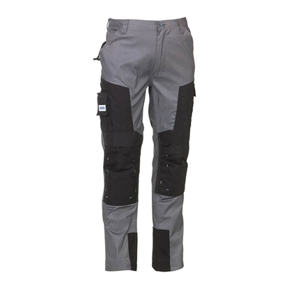 Εικόνα της Capua trousers COOL GREY/BLACK