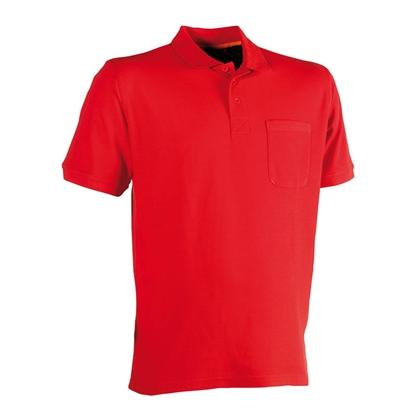 Εικόνα της Leo polo short sleeves RED