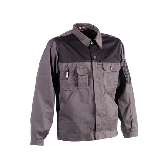 Εικόνα από Aton jacket GREY/BLACK