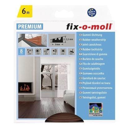 Εικόνα της FIXOMOLL ΠΡΟΦΙΛ E 6M 9X4MM ΚΑΦΕ