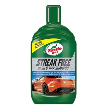 Εικόνα της TURTLE WAX STREAK FREE WASH & WAX 500ML