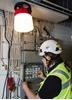 Εικόνα από MBerg® 2.0 230V Work Site LED light (Blue)